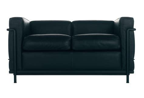 divano cassina cassina lc2 sofa 2 seat