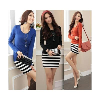 Series Baju Rajut grosir baju korea terbaru dan termurah dress series