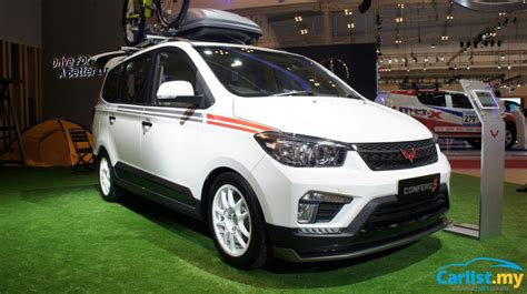 wuling cars jakarta 2017 wuling confero s made in indonesia