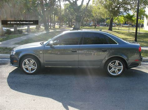 Audi A4 Door by 2008 Audi A4 Sedan 4 Door 2 0l S Line Automatic