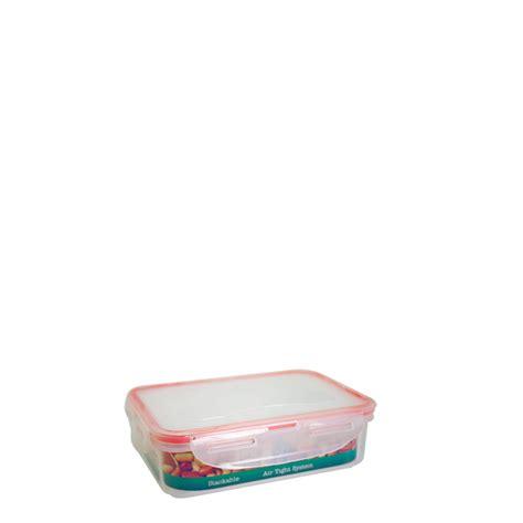 Kotak Serbaguna 7041 Green Leaf kotak roti dengan 4 pengunci 720 ml