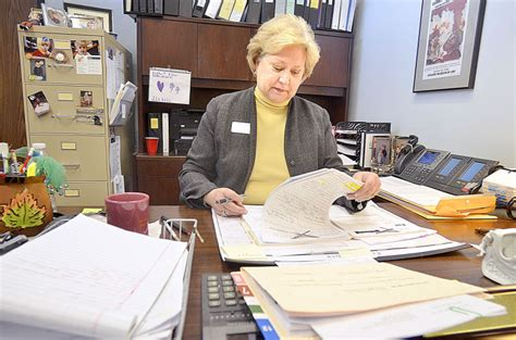 Catawba County Court Records Soon To Be Retired Clerk Of Court Al Jean Bogle Prepares