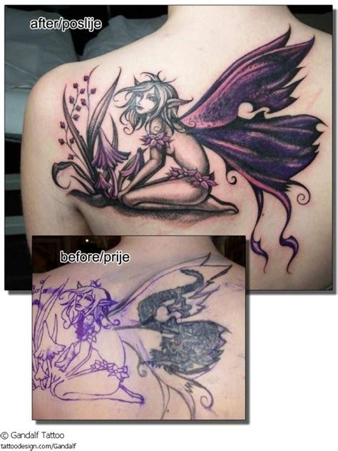 tattoo cover up elf 28 best great tattoo cover ups images on pinterest