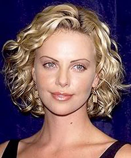 haircut with perm hairstyles for short permed hair