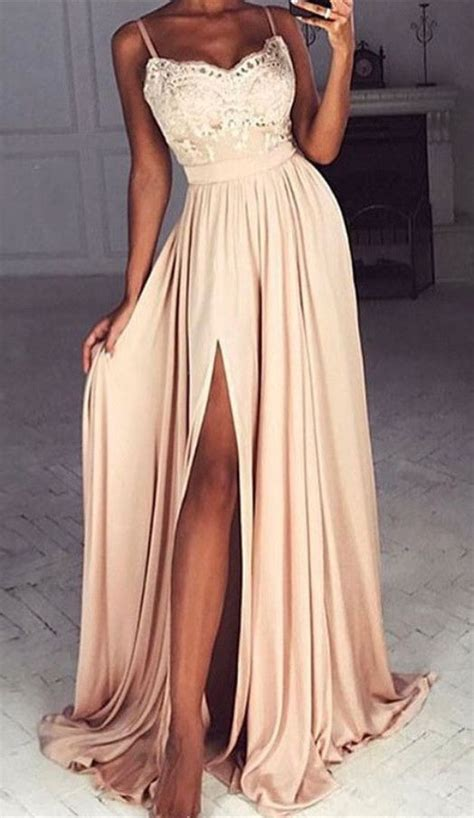 Black Split Longdress W8180usi D best 25 prom dresses ideas on dresses