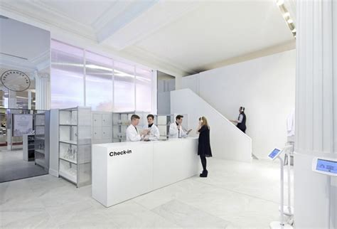 Small Modular Kitchen Designs fragrance lab installation by campaign the future