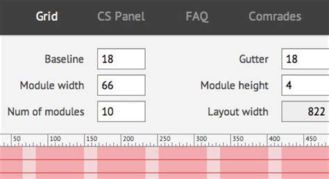 web layout grid photoshop grid based web design resources