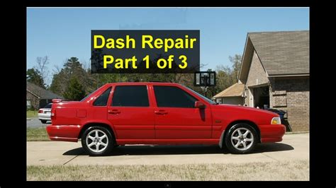 dash removal  noise evaporator replacement volvo    part    votd youtube