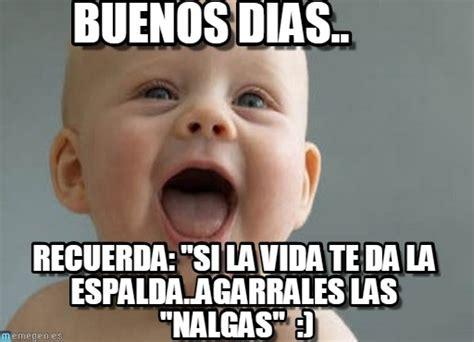 Buenos Dias Meme - buenos dias baby laugh meme en memegen