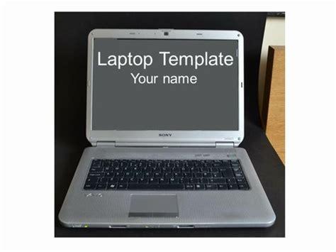 computer template laptop computer frames template