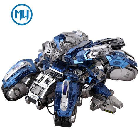 Mu 3d mu 3d metal puzzle starcraft 2 siege edition tank model