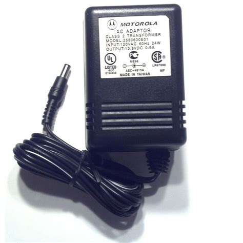 charger transformer motorola 2580600e01 transformer for rapid charger