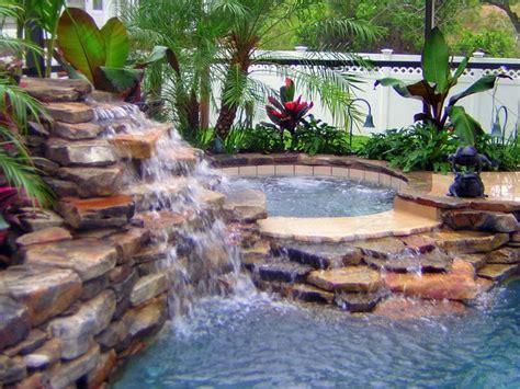 swimming pool waterfalls swimming pools bing images beautiful pools pinterest