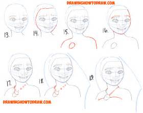 how to draw faces step by step for beginners 2 jpg dark