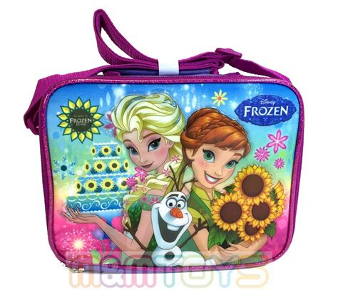 Disney Japan Inside Out Thermal Lunch Bag new disney frozen fever elsa olaf insulated s