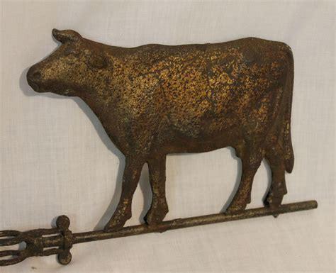 Bargain John's Antiques   Antique Cow zinc Weathervane