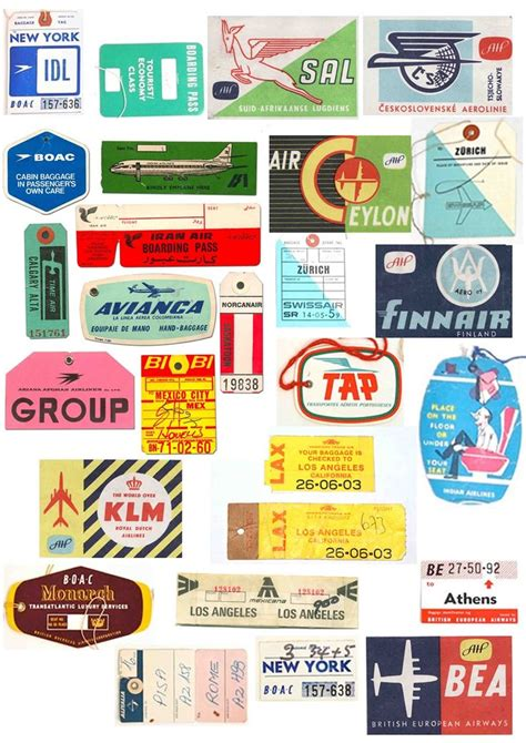 free printable airline luggage tags vintage airline luggage tags www pixshark com images