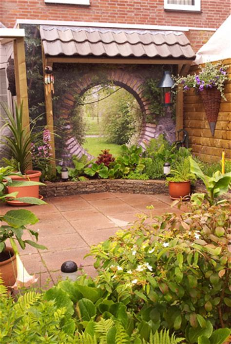 Gartenbilder Wetterfest