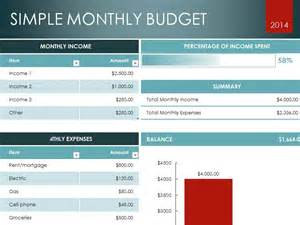 download monthly budget excel template microsoft excel