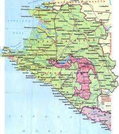 жд карта краснодарского края