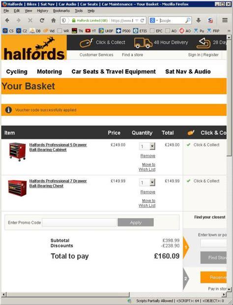 discount vouchers halfords halfords deal thread discount codes bundle offers cheap