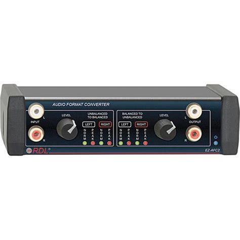 Format Audio Radio | rdl ez afc2 stereo audio format converter ez afc2 b h photo