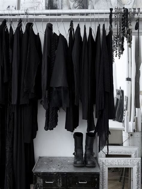 Black Wardrobe Closet by Best 20 Black Clothes Ideas On