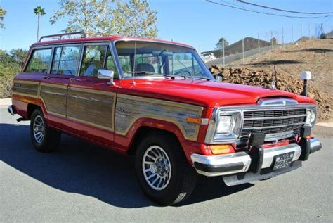 1987 Jeep Grand Wagoneer Mpg 1987 Jeep Grand Wagoneer Woody In El Cajon Ca 1 Owner