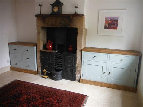 Handmade Painted Furniture - custom made painted and rustic pine top sideboard incite