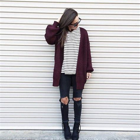 Go Five Maroon Sweater by Picked Color How To Wear Maroon For This Year