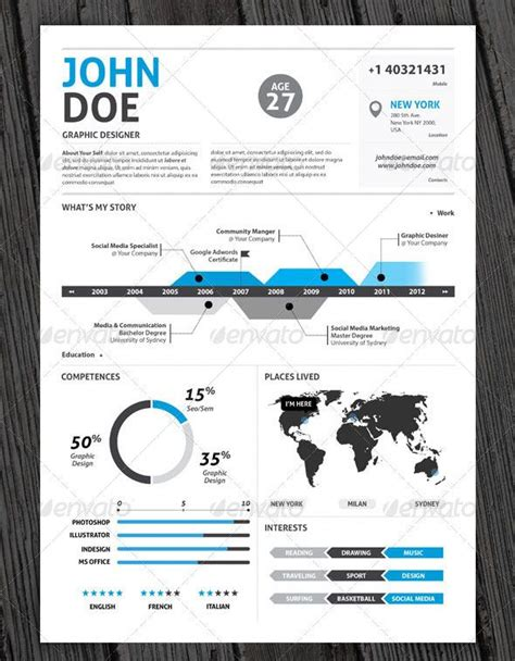 infographic resume template free word i design infographic resumes check out my portfolio design infographic resumes