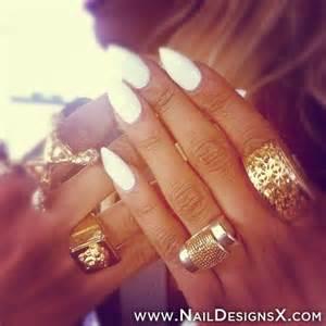White stiletto nail art nail designs amp nail art