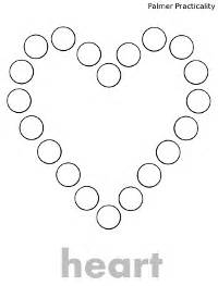 printable dot to dot shapes palmer practicality do a dot printables more shapes