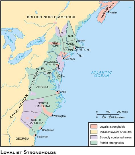 map of revolution battles 2 locations and conflicts the american revolution