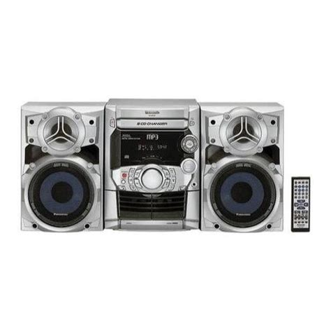 panasonic sc ak220 cd audio shelf system audio shelf