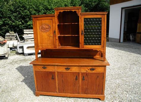 Kredenz Cookie by 1930 Jagdliches Buffet Kredenz Bauernstube B 161cm Massiv