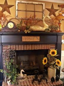 country decorations for the home mantel decor