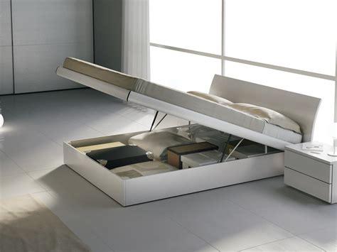 letti legno letto matrimoniale in legno con box contenitore idfdesign