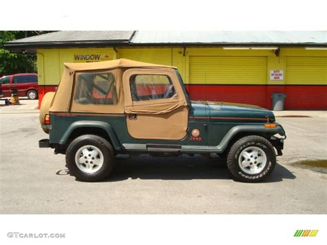 green metallic 1994 jeep wrangler 4x4 exterior photo 48865396 gtcarlot