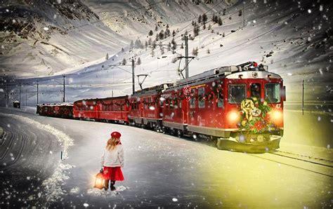 desktop wallpaper xmas trains free images snow winter transportation vehicle weather drink