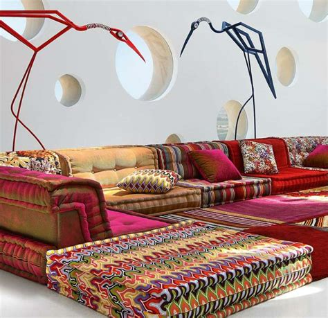 canape orientale salon moderne d inspiration marocaine