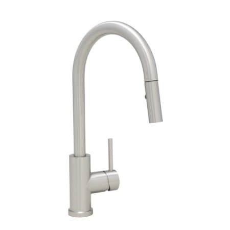 mirabelle mirxcra101mss stainless steel ravenel pullout spray kitchen faucet with magnetic