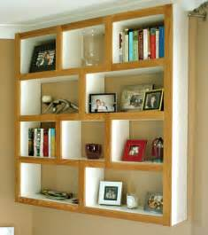 book wall shelves interior modern geometric square wall mounted shelves for