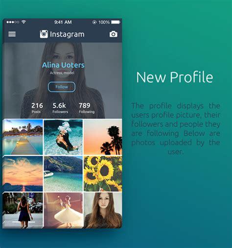 instagram layout inspiration mobile app design inspiration instagram redesign