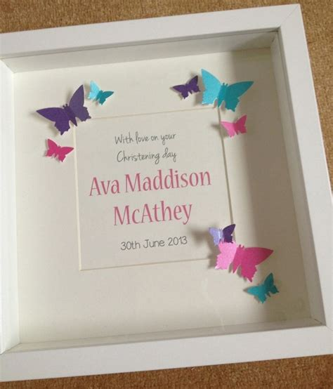 Handmade Baptism Gifts - handmade christening day gift ideas http on fb me