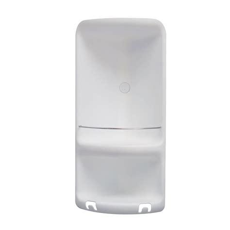 accessori per doccia acciaio portasapone angolare per doccia gedy 1 ripiano in resina e