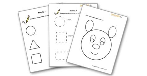 printable activities for 2 3 year olds 5 best images of printable worksheets for 2 year olds
