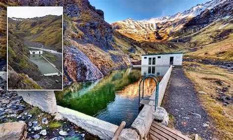 The Secret Health Room 05 iceland mountains pool seljavallalaug