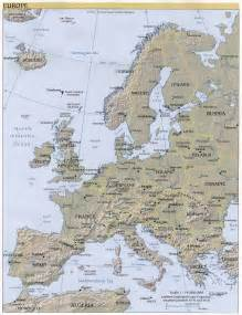 Map Of West Europe by Maps Of Europe Countries Western Europe Regions Map Pictures