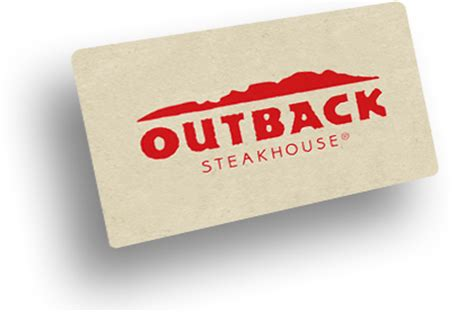Outback Gift Card - restaurant gift cards outback steakhouse